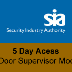 Door Supervisor Mock